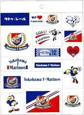 横浜F・マリノス タトゥーシール 1